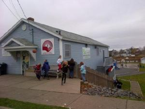 Youth in Whitney Pier, Cape Breton's Boys and Girls' Club. Photo: Grade 8 students from the Whitney Pier Youth Club